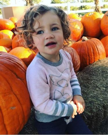 Emery at the pumpkin patch, Tulsa, Bixby, Oklahoma, pumpkin patch
