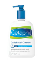 cetaphil, cleanser, sensitive skin, facial cleanser
