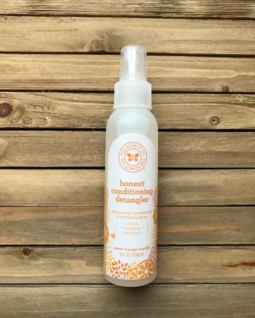 honest brand, honest, detangling spray, curly hair, baby, baby products
