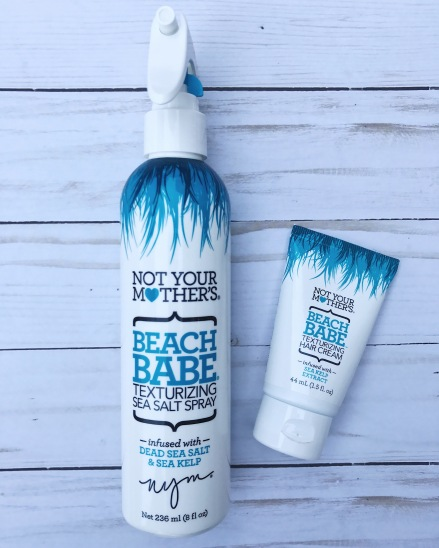 not your mother's, beach babe waves, beach waves, texturizing spray, sea salt spray, texturizing hair cream, hair care, messy hair, wavy hair, beach waves, Target