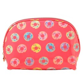 dabney lee, makeup bag, donuts, doughnuts, beauty, target