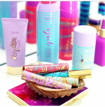 tarte cosmetics, lip shades, dry shampoo, deoderant, vegan, makeup