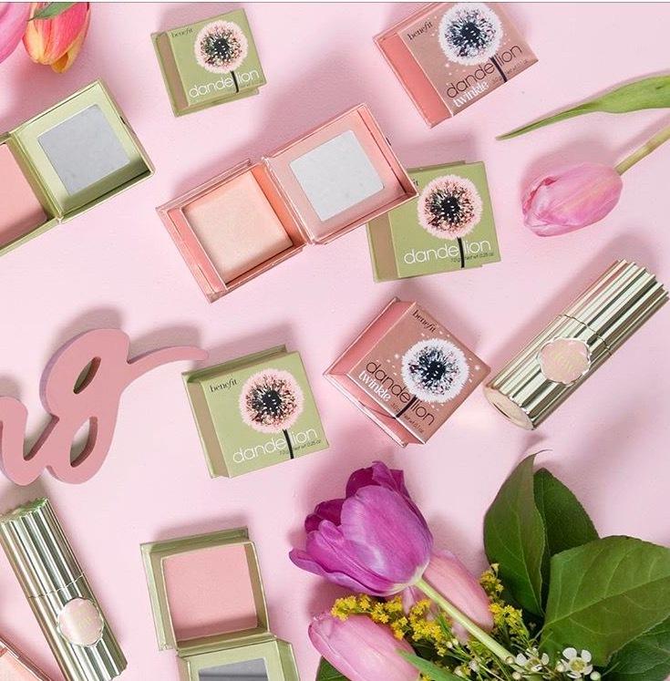 benefit dandelion, makeup, blush, benefit cosmetics