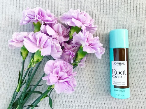 loreal paris, haircare, root touch up, root cover up, dark brown, hair spray