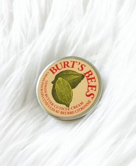 burt's bees, cuticle cream