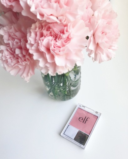 elf cosmetics, elf, blush, pink, makeup