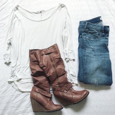 gap jeans, gap, boots, fall
